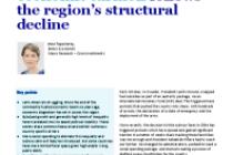 Latin America's socio-economic turmoil follows the region's structural decline