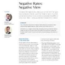 Negative Rates: Negative View