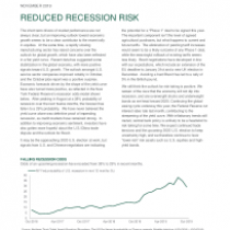 Reduced Recession Risk