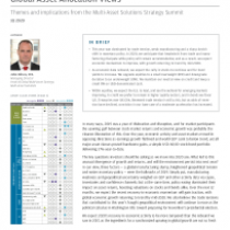 Themes and implications from the Multi-Asset Solutions Strategy Summit 1Q 2020