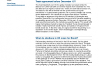 Trade conflict US/China, elections in the UK, monetary policy decisions of the US Fed and the ECB