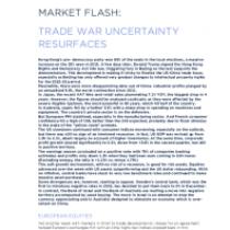 Trade war uncertainty resurfaces