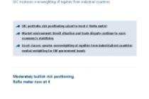 Union Investment adopts moderately bullish risk positioning