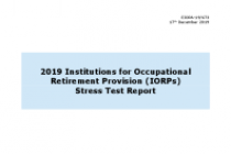 2019 Institutions for Occupational Retirement Provision (IORPs) Stress Test Report