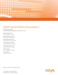 2020 Capital Market Assumptions