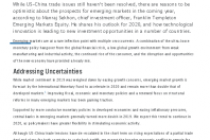 2020 Outlook for Emerging Markets Equity Investing