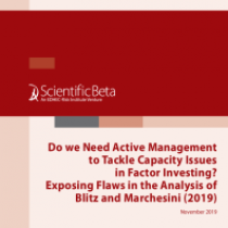 Do we Need Active Management to Tackle Capacity Issues in Factor Investing?