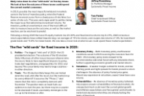 Five wildcards for fixed income in 2020