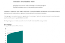 Innovation for a healthier world