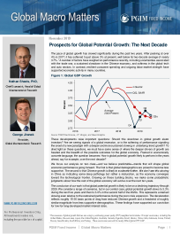 Prospects for Global Potential Growth: The Next Decade