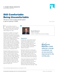 Still Comfortable Being Uncomfortable