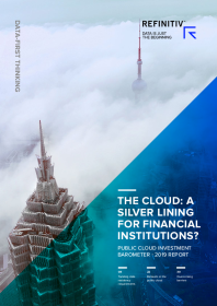 The cloud: A silver lining for financial institutions? Public Cloud Investment Barometer – 2019 Report
