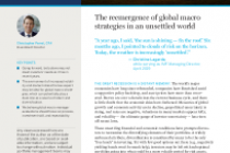 The reemergence of global macro strategies in an unsettled world