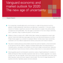 Vanguard's global outlook for 2020