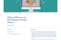 What a Difference an ESG Ratings Provider Makes!