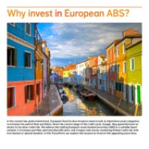 Why invest in European ABS?