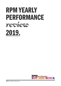 Yearly Performance Review 2019