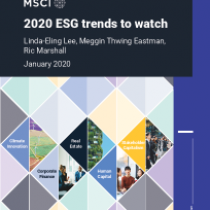 2020 ESG trends to watch