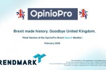Brexit made history. Goodbye United Kingdom.