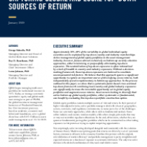 Capturing Global and Local Top-Down Sources of Return