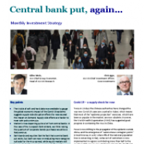 Central bank put, again…