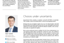 Choices under uncertainty