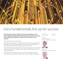 Coco fundamentals line up for success