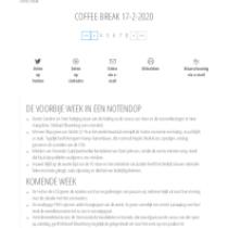 Coffe Break February 2020