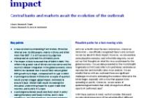 Coronavirus – tracking the path, anticipating the impact