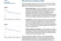 Focus: Euro, EZ Industry