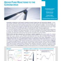 Hedge Fund reactions to the coronavirus