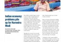 Indian economy: problems pile up for Narendra Modi