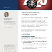 Insurance roadmap 2020: Three keys to success
