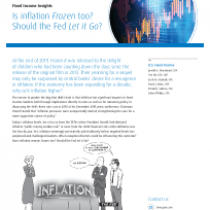 Is inflation Frozen too?