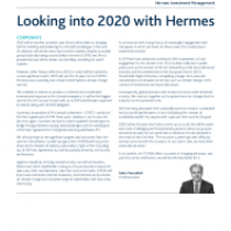 Looking into 2020 with Hermes