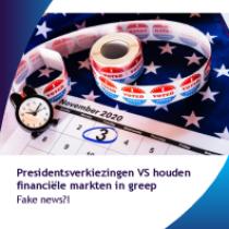 Presidentsverkiezingen VS houden financiële markten in greep