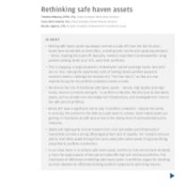 Rethinking safe haven assets
