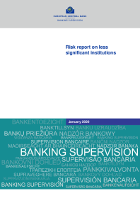 Risk report on less significant institutions