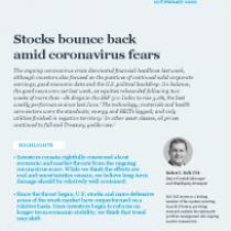 Stocks bounce back amid coronavirus fears