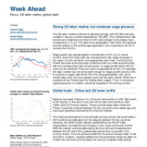 Strong US labor market, but moderate wage pressure