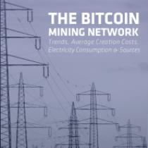 The Bitcoin Mining Network
