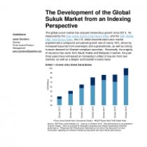 The Development of the Global Sukuk Market from an Indexing Perspective