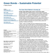 The Green Bond Market Is Growing Up