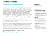The Next Stage of Global Reflation