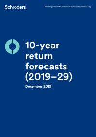 10-year return forecasts (2019–29)