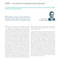 2020 – coronavirus reversal and rebound