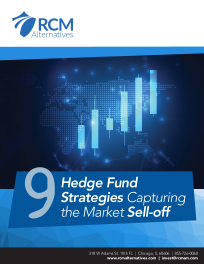 9 Hedge Fund Strategies – Capturing the Market Sell-off
