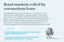 Bond markets roiled by coronavirus fears