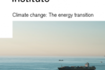 Climate change: The energy transition