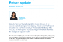 Coronavirus/market volatility: Threadneedle Dynamic Real Return update